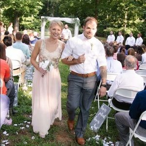 Dresses & Skirts - Pink Bridesmaid Dress - SMALL